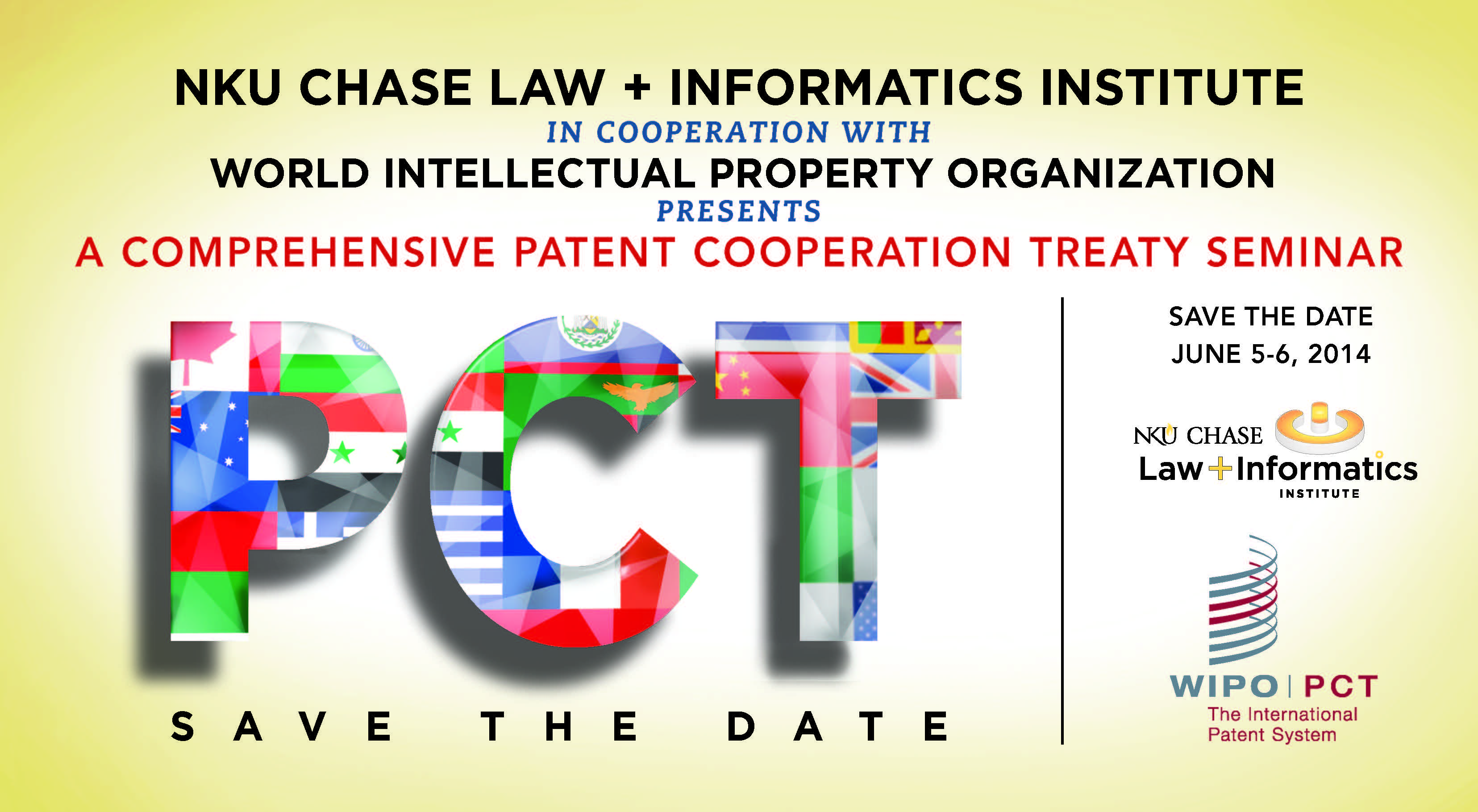 The Nku Chase Law Informatics Institute In Cooperation With World Intellectual Property Organization Wipo Will Host A Comprehensive Patent Cooperation